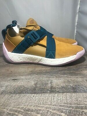 28fd853ef78c ADIDAS JAMES HARDEN LS 2 Buckle Lifestyle Shoes BOOST Leather Suede ...