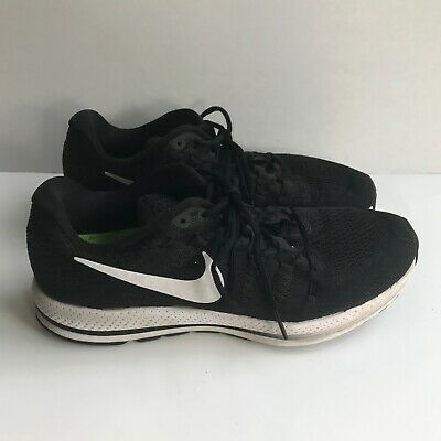 best loved 34957 b6446 NIKE RUNNING Women s Black White Athletic Sneakers Size 10 Lace Up