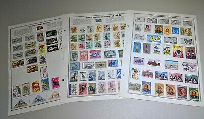 Stamp Pickers Congo Classic Stamps Harris Album Collection Estate Lot #1 VFU MH