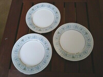 Lot of 3 Vintage Noritake Ivory China Monteleone 7569 Bread & Butter Plates