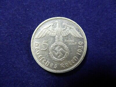 1939 5 Reichs Mark coin - Germany