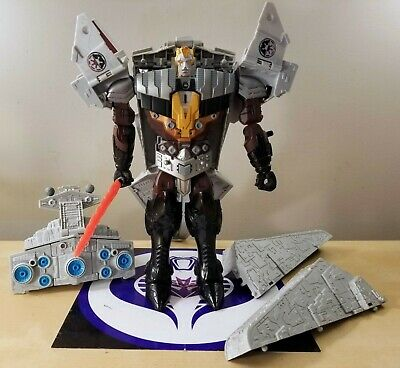 Star Wars Transformers Crossovers Darth Vader To Star Destroyer 2011 Very Nice