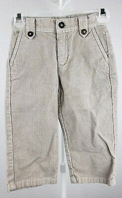 #1 Janie And Jack Corduroy Pants Boys 12-18 Months Lined Bottoms Baby & Toddler Clothing