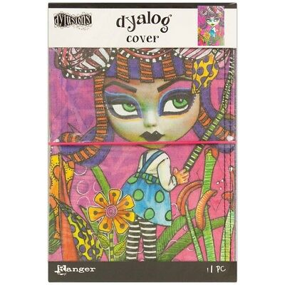 Dyan Reaveley's Dylusions Dyalog Canvas Printed Cover - Believe
