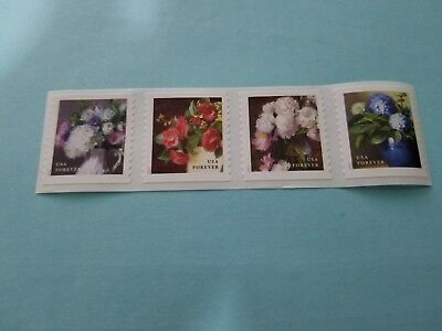 20 Strips of 4 Postage Stamps [80 Forever Stamps]