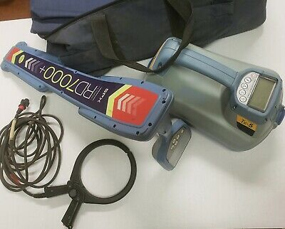 radiodetection rd7000+ w/tx-5 transmitter and clamp