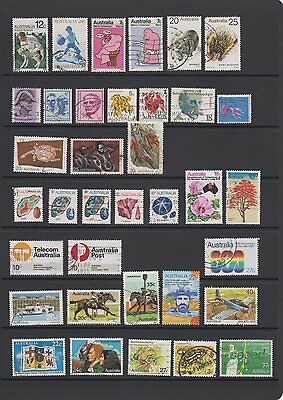 Mixed selection of 36 used stamps issued 1970 - 1982 - all different - Lot 57