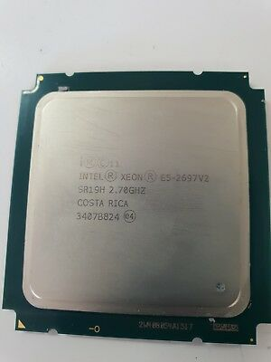 Intel Xeon E5-2697 V2 12-Core 2.70GHz 30MB Cache SR19H CPU Processor