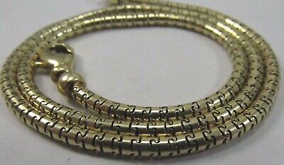 14K Yellow Gold Designer Link Necklace   16.5 in. long  SALE-SAVE 1700.   #1112