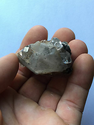 5 + Herkimer Diamant Gemmes Intégré à Calcite-Highly Aesthetic-Unique