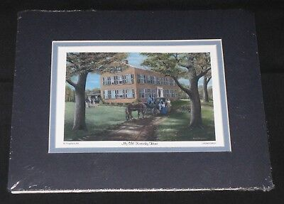 KY Artist Fred Thrasher My Old Kentucky Home 5 x 7 Limited Edition Print