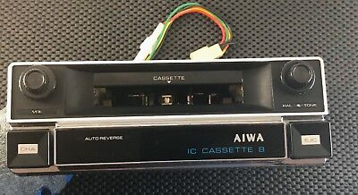 Aiwa Tp-1028 8-Track Tape Player Cassette Player