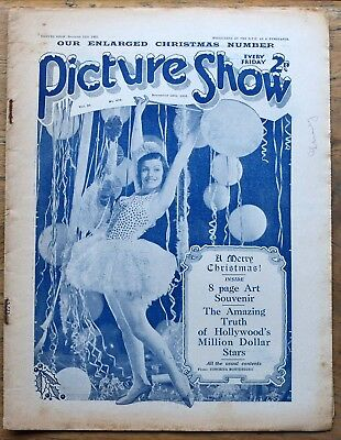 OLD FILM magazine - Picture Show for December 12th 1931