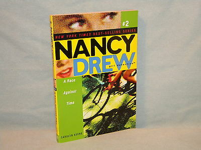 Nancy Drew Girl Detective #2 A Race Against Time pb Mystery Carolyn Keene