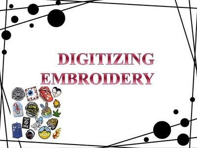 Embroidery Digitizing Service Left Chest up to 12cm