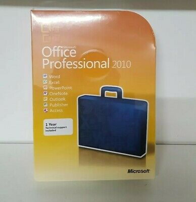 Microsoft Office 2010 Professional brand new (p)