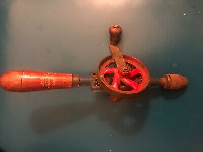 Vintage German Made hand crank drill