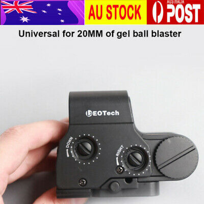 Green/Red Dot Holographic Sight Universal For 20mm Rail for Gel Ball Blaster Toy