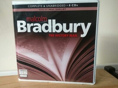The History Man By Malcolm Bradbury 8 Cd Audiobook Unabridged