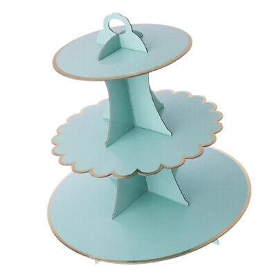 Cardboard Cup Cake Stand Food Serving Shop Window Display Birthday Tea Party