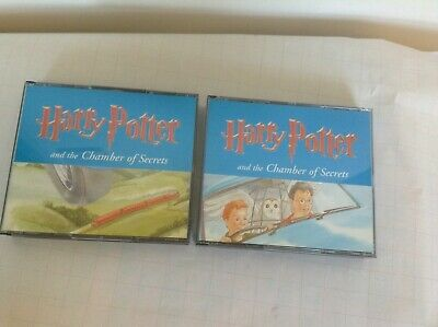 Harry Potter and the Chamber of Secrets Audio CD Unabridged J K Rowling S Fry