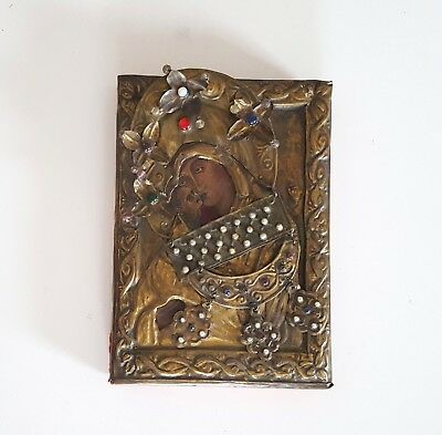 Antique Orthodox icon Russian Greek ? Religious art