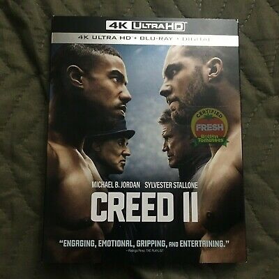 Creed II 4K Ultra HD + Blu-ray - Digital Copy Not Included