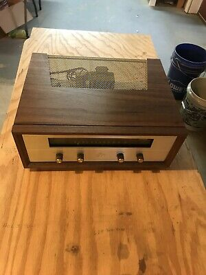 Reproduction Fisher Amplifier Cabinet X202B Walnut Veneer # 1