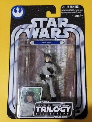 "Star Wars OTC #35 Original Trilogy Collection Han Solo AT-ST Disguise 3.75"" NIB"