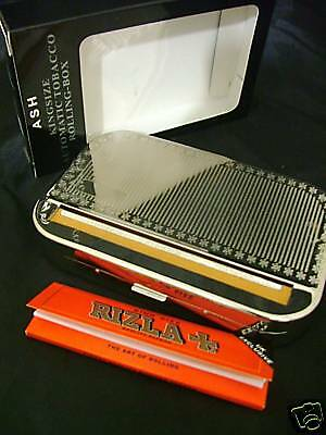 Cigarette ROLLING Machine King Size Tobacco Tin NEW