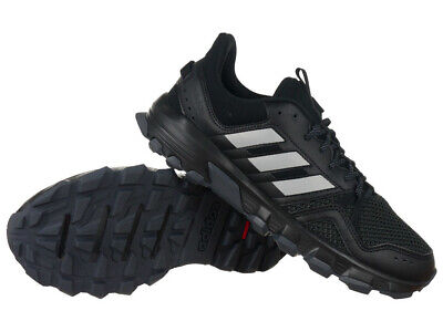 pretty nice fe809 7fbea MEN'S ADIDAS ROCKADIA Trail Running Shoes Trainers Black Outdoor Training