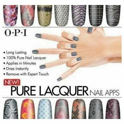 OPI Lacquer Nail Apps