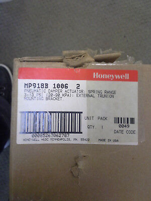 Honeywell Mp918B 1006 2 Pneumatic Damper Actuator