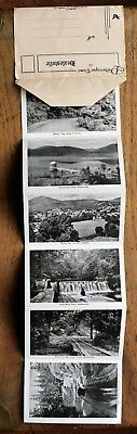 OLD DROP DOWN 1940's 12 view Picturesque Views  of Healsville