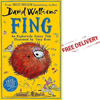 Fing Book By David Walliams Funny Tale Kids Childrens Illustrated Hardcover 2019
