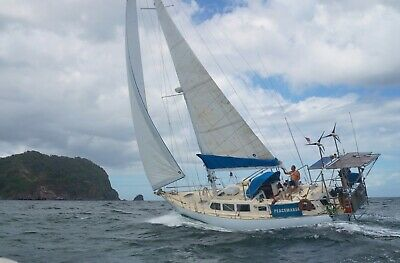 Bruce Roberts 45 Charter, very strong build  long distance fiberglass yacht
