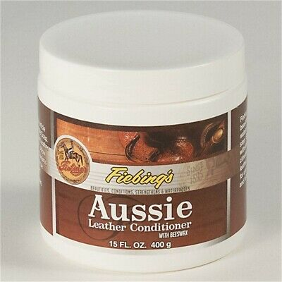 5oz Beeswax Leather Conditioner - Aussie Fiebings 15 Oz