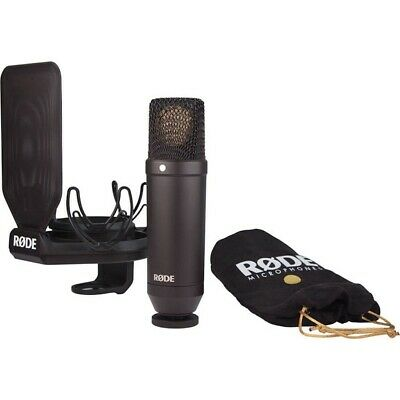 Rode NT1 Kit 1-Inch Cardioid Condenser Microphone with Shockmount Open Box
