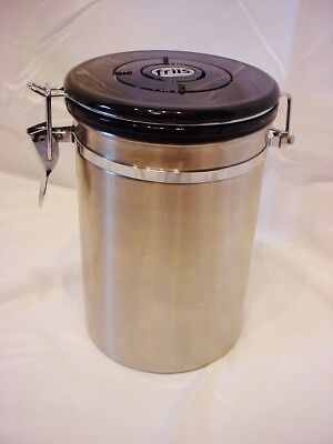 Friis Stainless Steel Coffee Grounds Air Tight Container