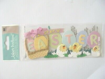 Jolees Boutique Happy Easter Words Scrap Booking Stickers