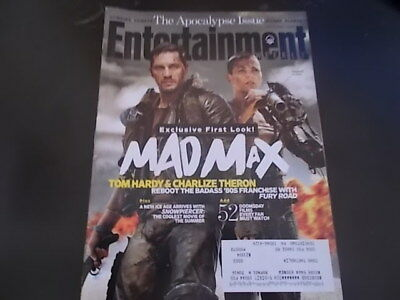Mad Max: Fury Road, Tom Hardy - Entertainment Weekly 2014