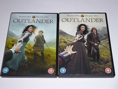 Outlander - The Complete First Season 1 - GENUINE UK DVD SET - Series One