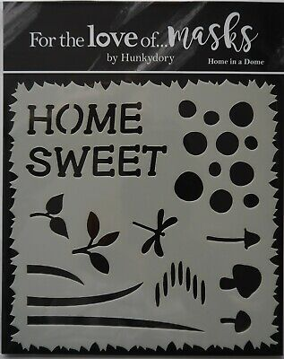 """Hunkydory For the Love of Masks Stencil Template 5.5/"""" x 5.5/"""" Choice of Designs"""