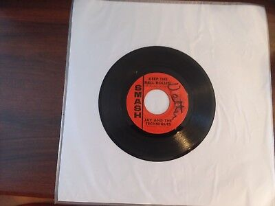 1967 VG Jay Techniques Garder The Ball Rollin / Here We Go Again Smash S-2124 45