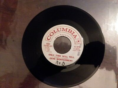 1961 VG+ (Rare) Promo Gene Montgomery Slow Motion / Only Time Will Tell 45 42221