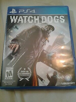 WATCHDOGS Watch Dogs PS4 Sony Playstation 4 Video Game 2014