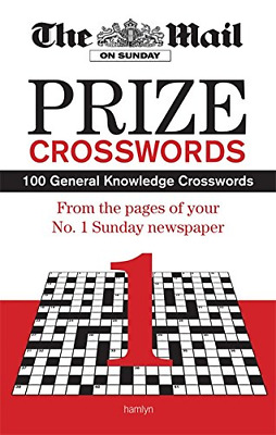The Mail on Sunday: Prize Crosswords 1, Daily Mail, Good Condition Book, ISBN 06
