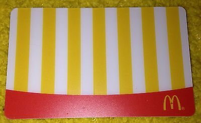 McDonald's 2015 ARCH GIFT CARD FRENCH FRIES NO VALUE CANADA NEW COLLECTIBLE