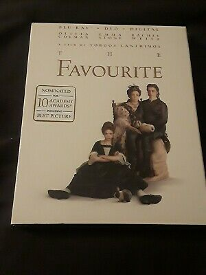 The Favourite (Blu-Ray + DVD + Digital) BRAND NEW FACTORY SEALED, FREE SHIPPING