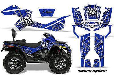 ATV Graphics Kit Decal Wrap For CanAm Outlander Max 500/800 2006-2012 WIDOW S U